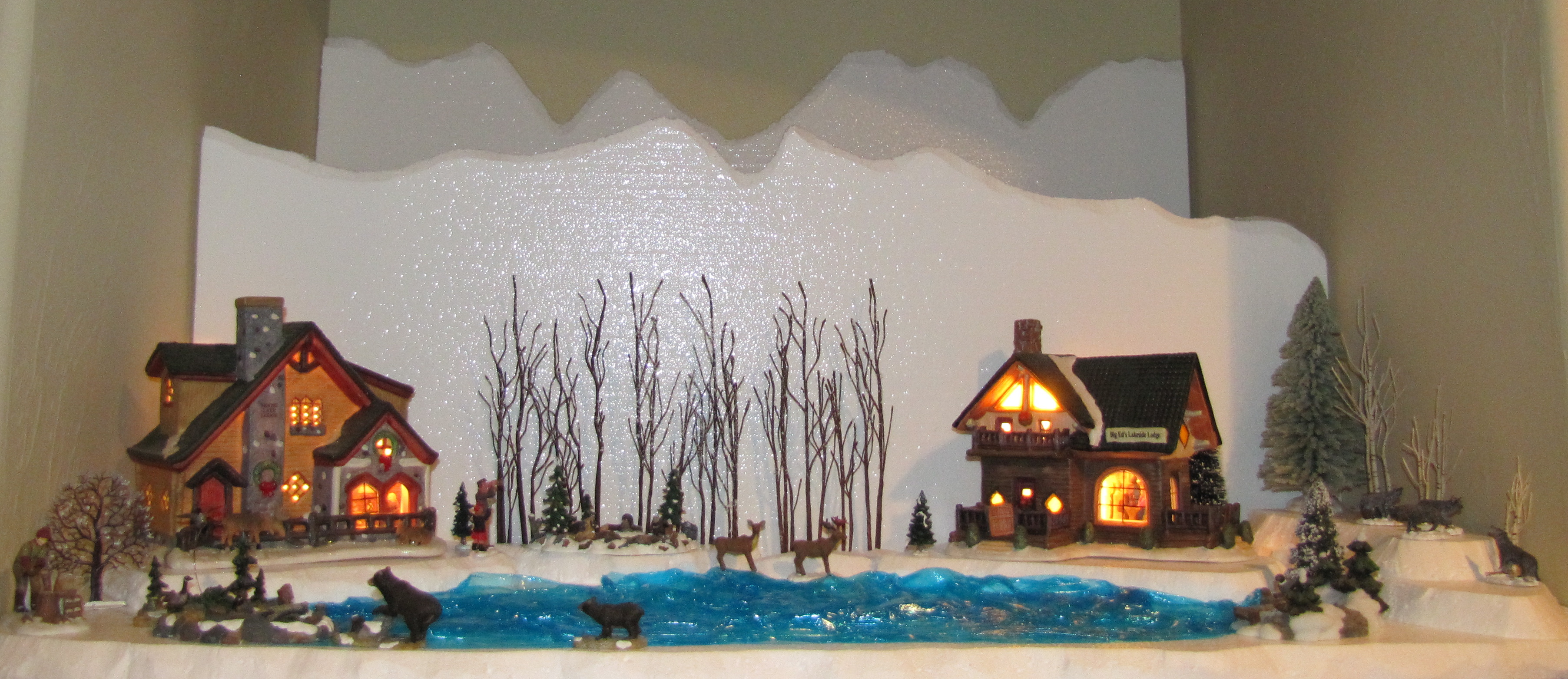Christmas Village Display | Getting to know CO